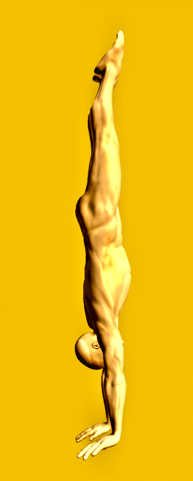 counter handstand