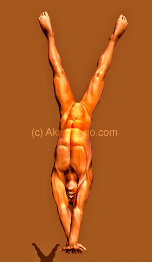 node handstand