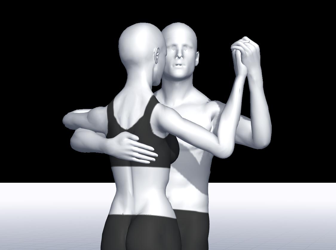 Haltung im Tango Argentino